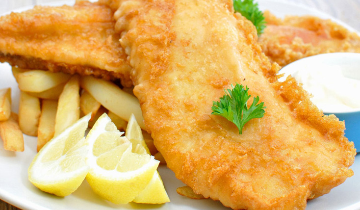 Promo lundi - Fish and chips